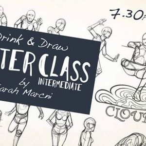 MASTERCLASS Drink & Draw