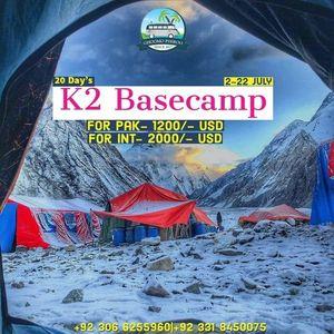 20 Days k2 Basecamp Trek