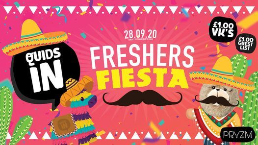 Quids In: Freshers Fiesta | Official Cardiff Freshers Event, 1 February | Event in Cardiff | AllEvents.in