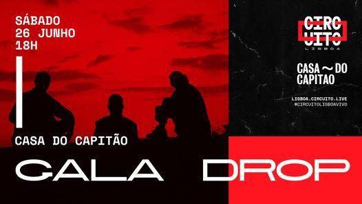 Gala Drop • concerto no terraço   Circuito Lisboa, 26 June   Event in Seixal   AllEvents.in