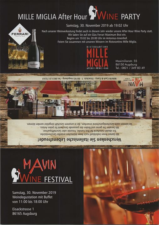 Mavin Wine Festival At Mavin Cash Carry Augsburg
