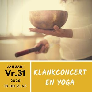 Klankschaal en Stem concert met Do-In yoga