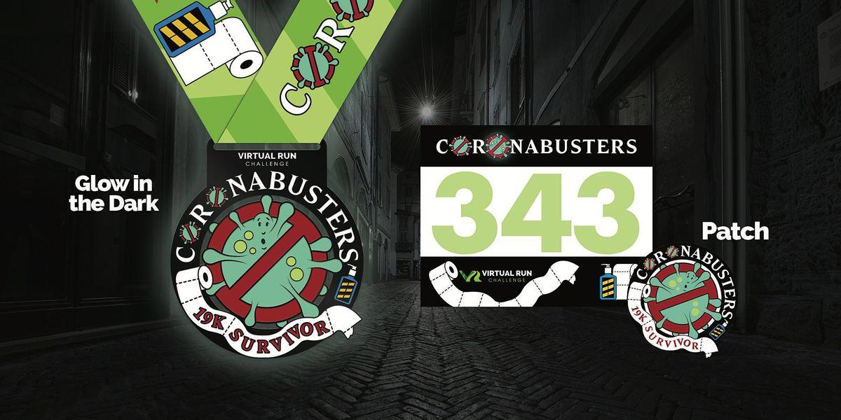 2020 CoronaBusters Virtual 19K Run Walk - Orlando