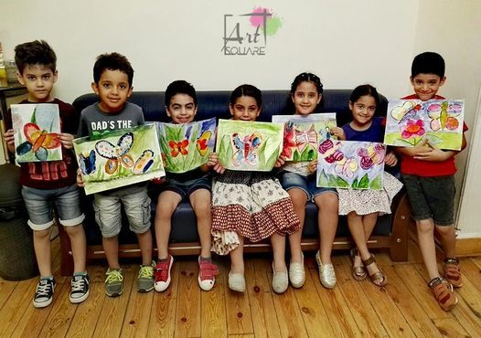 Kids Art course (16 Hrs), 31 July | Event in Ramadan 10 City | AllEvents.in