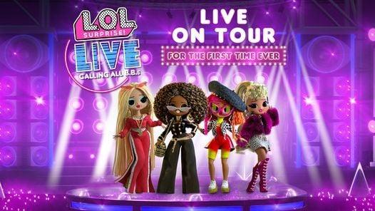 L.O.L. Surprise! Live, 22 October | Event in Fort Lauderdale | AllEvents.in