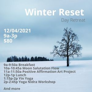 Winter Reset Day Retreat