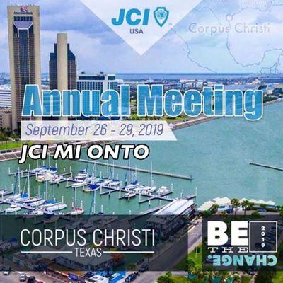 JCI Michigan ONTO Corpus Christi TX for JCI USA Annual Meeting