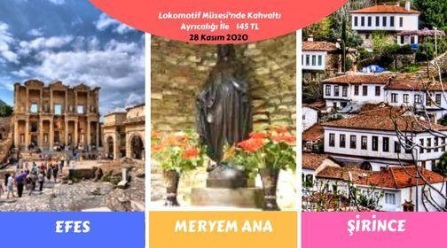 Efes Meryem Ana Lokomotif Müzesi Şirince ( Kahvaltı Dahil ) | Event in Izmir | AllEvents.in