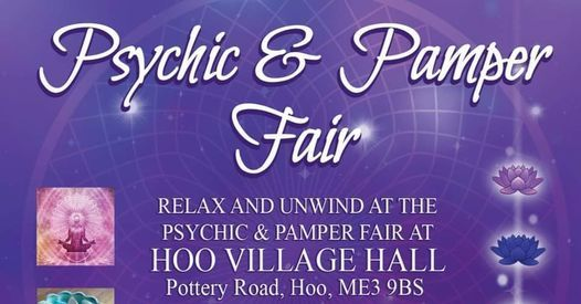 Psychic & Pamper Fair 1st August, 1 August   Event in Rochester   AllEvents.in