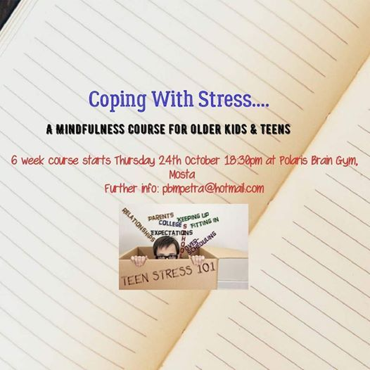 Coping with Stress A Mindfulness Course