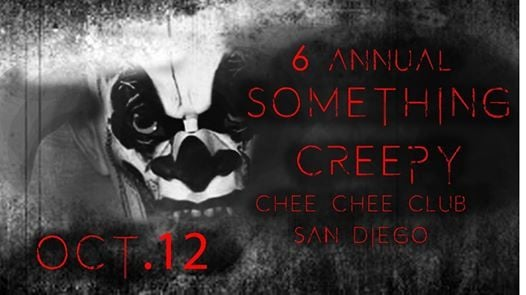 6th Annual Something Creepy Art Exhibition and Halloween Party