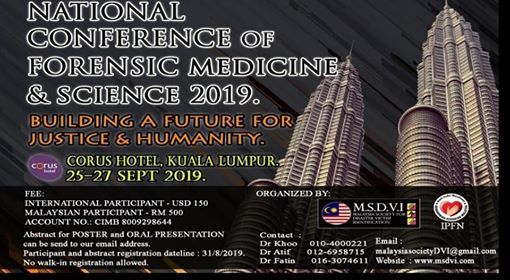 National Conference of Forensic Medicine & Science2019