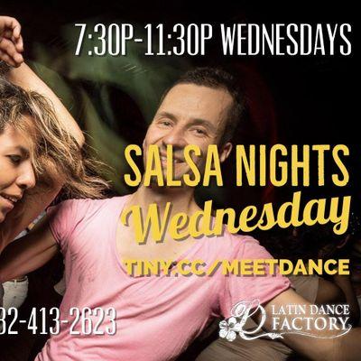 Free Tropical Salsa Wednesday Social  Fabians Latin Flavors 1225