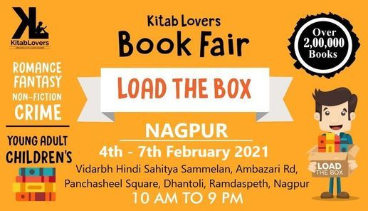 LOAD The BOX KitabLovers Warehouse books Sale Nagpur, 4 February | Event in Nagpur | AllEvents.in