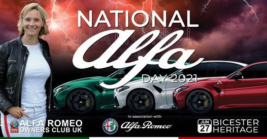 AROC National Alfa Day 2021, 27 June | Event in Buckingham | AllEvents.in