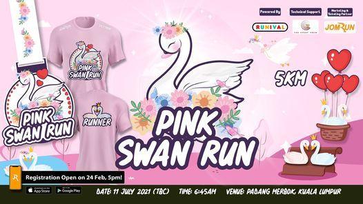 KL Pink Swan 5km Fun Run, 11 July | Event in Kuala Lumpur | AllEvents.in
