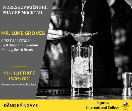 Free Workshop:  Pha chế Mocktail tại Pegasus, 31 July   Event in Sanhu Dao   AllEvents.in