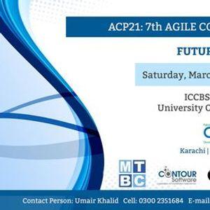 7th Agile Conference Pakistan 2021