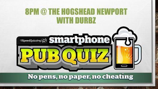 Sunday Smartphone Quiz, 20 June   Event in Newport   AllEvents.in