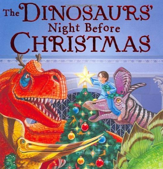 Sold Out 1st Reading Dinosaurs Night Before Christmas