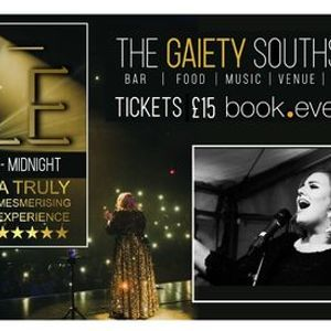 INSPIRED BY ADELE 7 piece Live Band at The Gaiety Southsea South Parade Pier