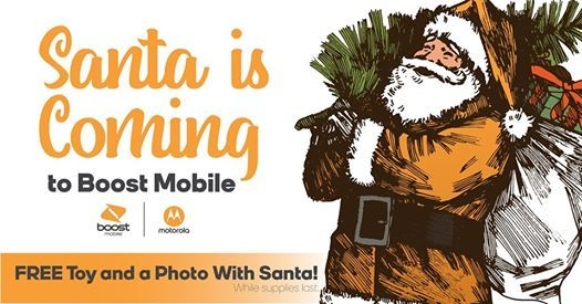 Pictures with Santa  free toy for your child