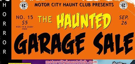 MCHCs 15th Annual Haunted Garage Sale