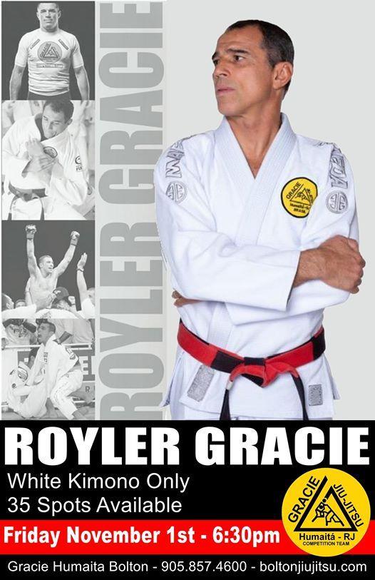 2019 Royler Gracie Seminar at Gracie Humaita Bolton