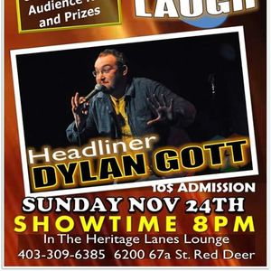 Spin and Laugh Featuring Headliner Dylan Gott