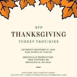 Thanksgiving Turkey TrotHike