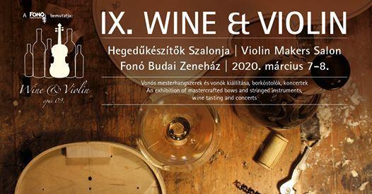 9. Wine & Violin Hegedksztk Szalonja