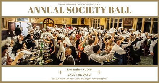 The Annual Society Ball 2019
