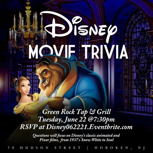Disney Movie Trivia, 22 June | Event in Hoboken | AllEvents.in
