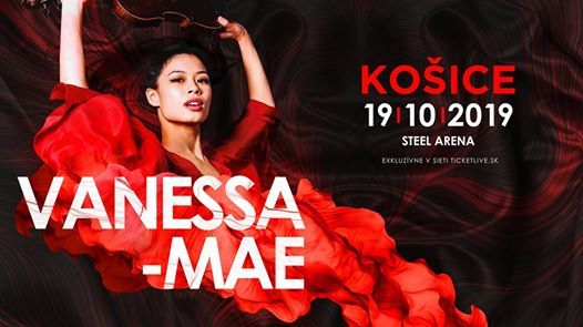 Vanessa-Mae 19.10.2019 Koice