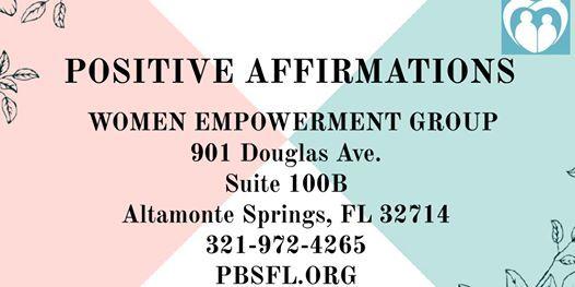 POSITIVE AFFIRMATIONS Women Empowerment Group
