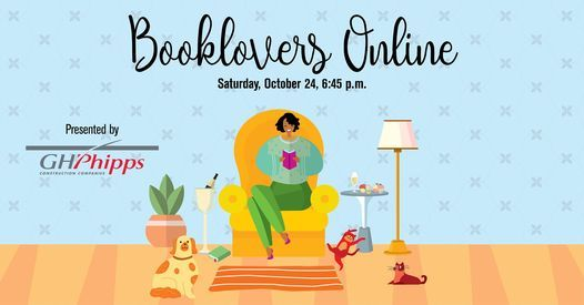 Booklovers Online: Bookmarked, 25 October | Online Event | AllEvents.in