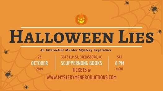 Halloween Lies - Scuppernong Books | Greensboro