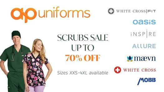 Scrubs Uniforms SALE UP to 70% OFF (Thunder-BAY)
