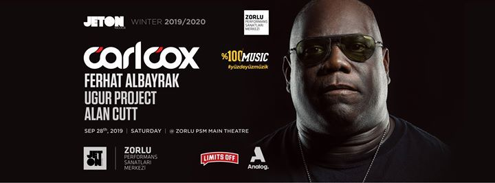 Carl Cox presented by %100 Music