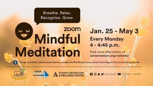 Csulb Calendar Spring 2021 Spring 2021: Mindful Meditation, CSULB Student Recreation and