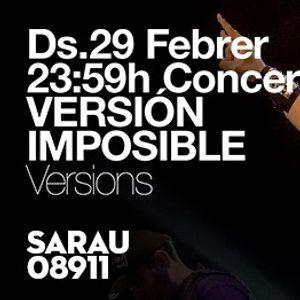 Concert Versin Imposible al Sarau08911