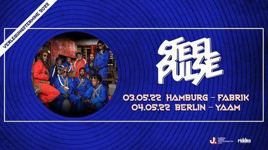 Steel Pulse // Hamburg (Neuer Termin!), 3 May | Event in Hamburg | AllEvents.in