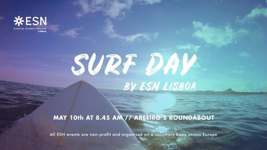 Surf Day by ESN Lisboa | Event in Lisbon | AllEvents.in