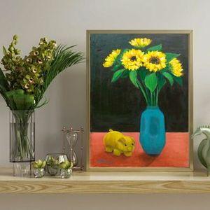 Workshop tranh tnh vt hoa hng dng