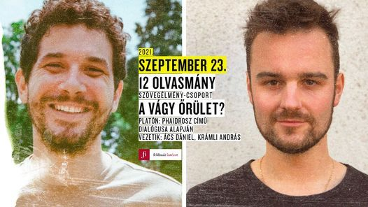 A vágy őrület? – 12 olvasmány CSOPORT, 23 September   Event in Budapest   AllEvents.in