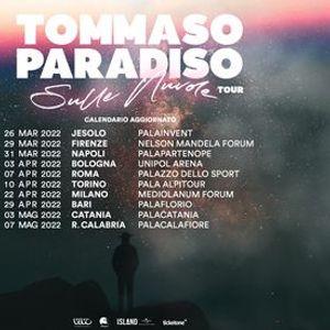 Tommaso Paradiso in concerto a Roma nuova data