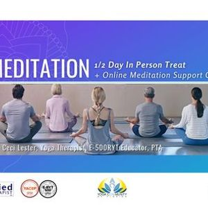 Meditation 12 Day Retreat & Support w Ceci Lester IAYT E500RYT