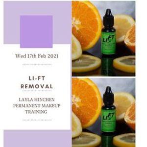 Li-Ft tattoo Removal Training