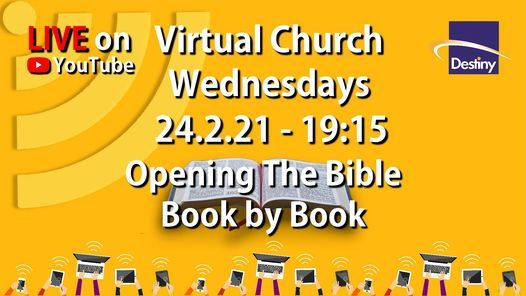 Opening the Bible - Book by Book - Live Worship & Teaching   Event in Wakefield   AllEvents.in