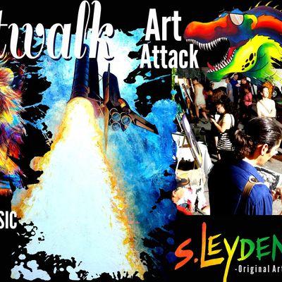 Artwalk at Art Attack